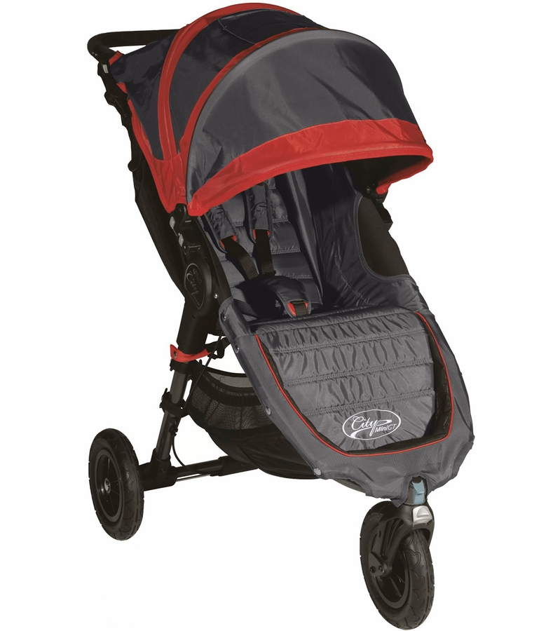 Baby Jogger 2015 City Mini GT Single 2013 Stroller Shadow / Crimson