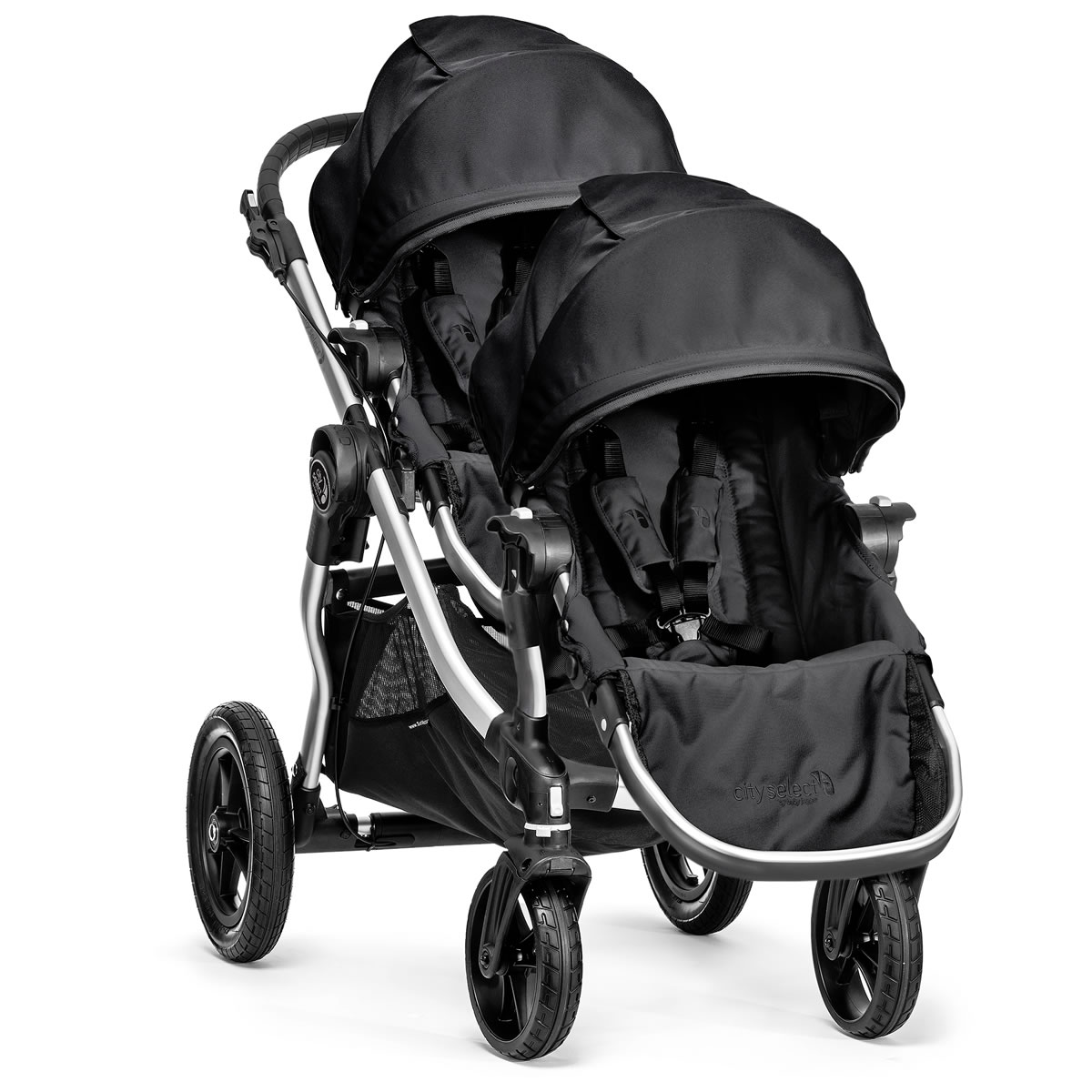 Baby Jogger City Select Double Stroller - Onyx