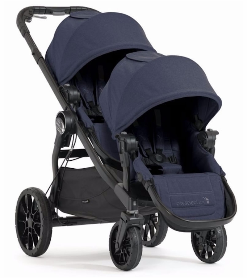 Baby Jogger City Select Lux Double Stroller Indigo