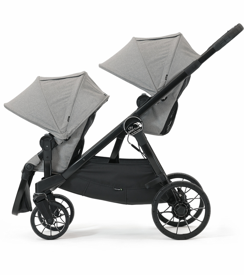 Baby Jogger City Select Lux Double Stroller Slate
