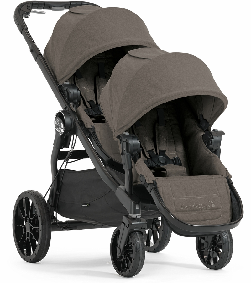 Baby Jogger City Select Lux Double Stroller Taupe