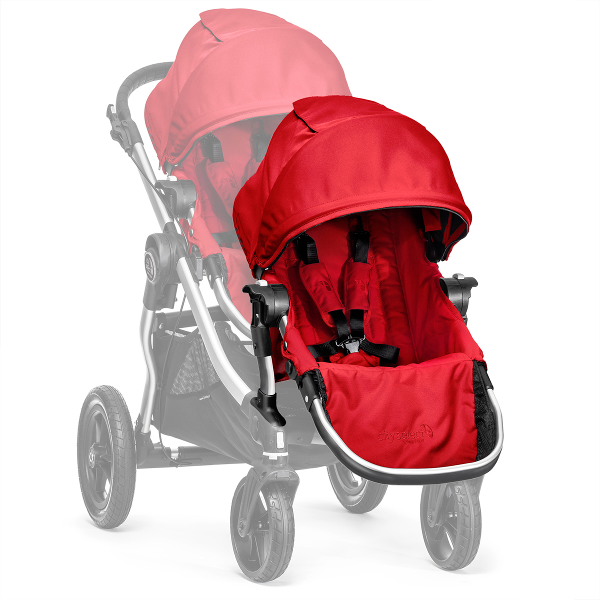 Baby Jogger City Select Second Seat Kit - Ruby