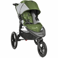 Baby Jogger Summit X3 Single - Green/Gray