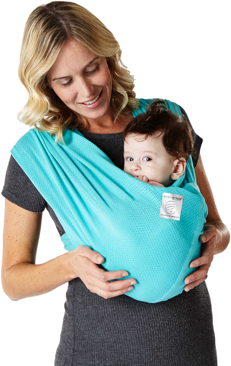 Baby K'tan Breeze Baby Carrier - Teal - Large