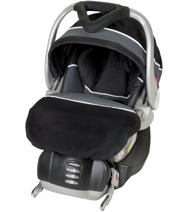 baby trend flex loc infant car seat onyx. Black Bedroom Furniture Sets. Home Design Ideas