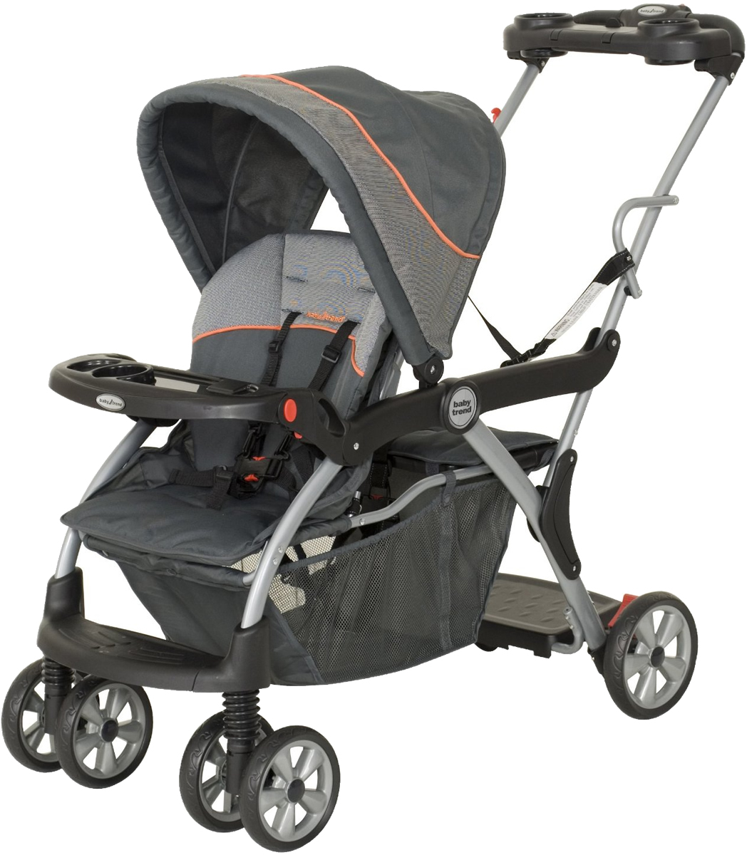 Baby Trend Sit And Stand Double Stroller Fit Graco Car