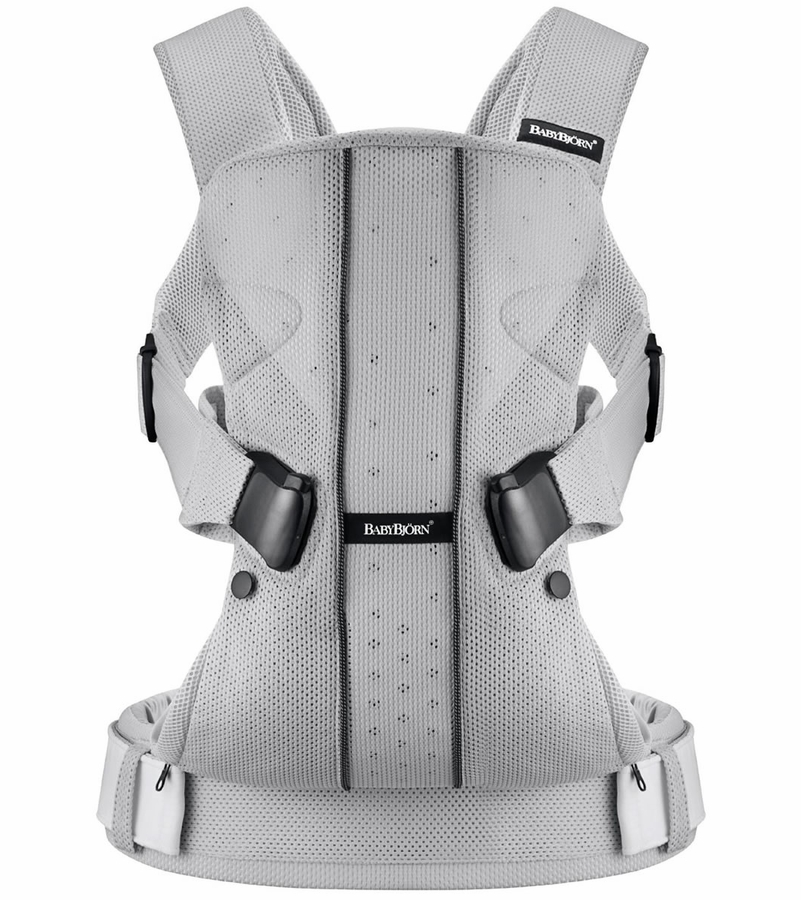 babybjrn baby carrier one mesh silver. Black Bedroom Furniture Sets. Home Design Ideas