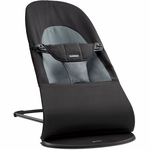 BabyBjörn Bouncer Balance Soft - Cotton - Black / Dark Gray