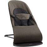 BabyBjörn Bouncer Balance Soft - Organic - Black / Brown