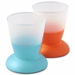 BabyBjörn Cup 2 Pack in Orange & Turquoise
