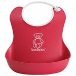 BabyBjörn Soft Bib in Red