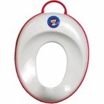 BabyBjörn Toilet Trainer in White with Red Trim