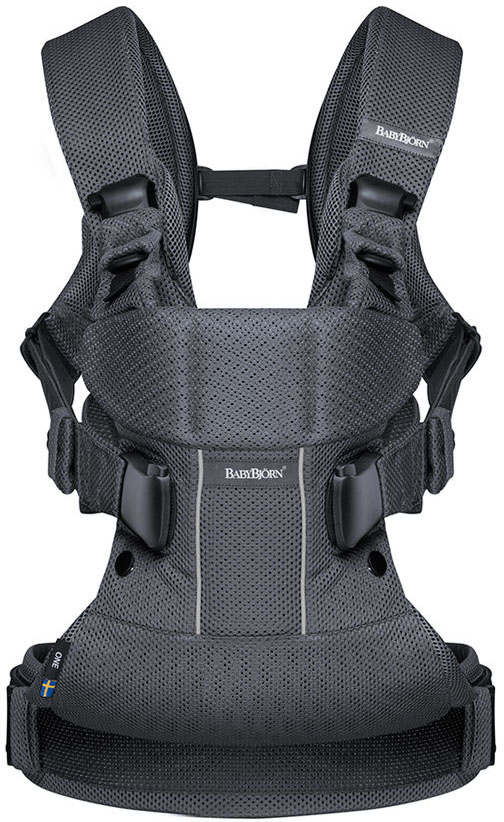 Baby Bjorn Baby Carrier One - Anthracite, Mesh (Limited Edition Color)