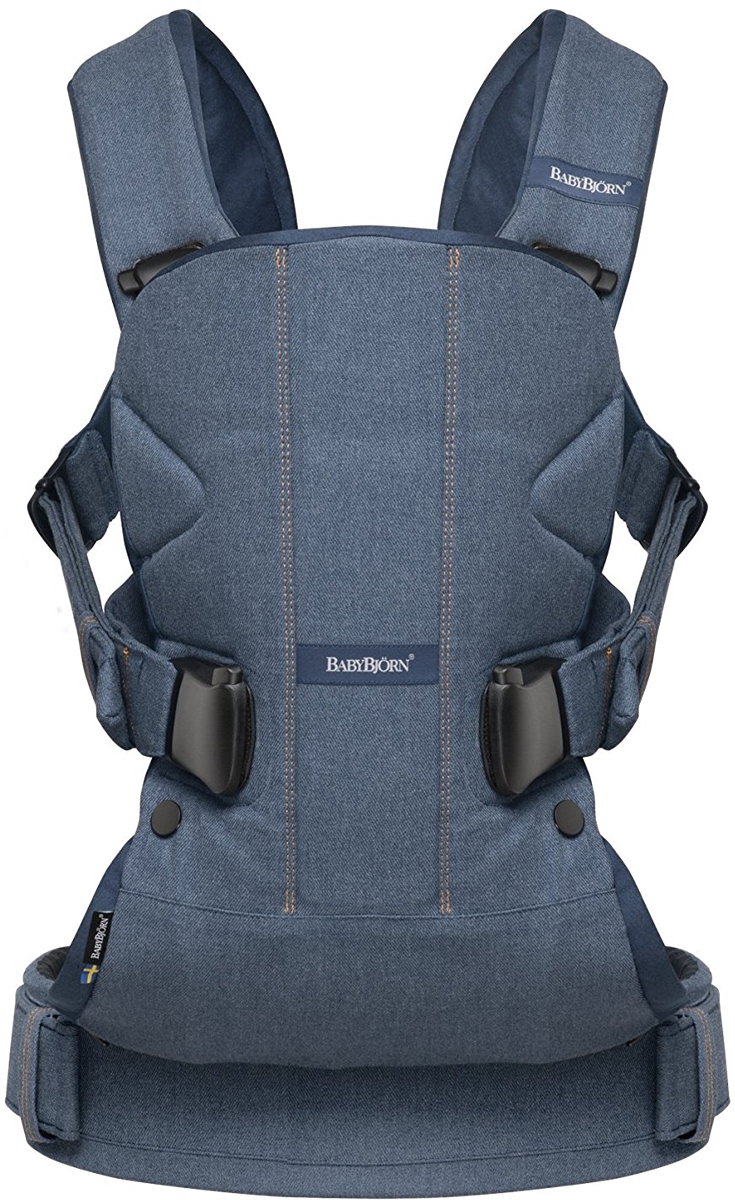 Baby Bjorn Baby Carrier One - Denim/Midnight Blue