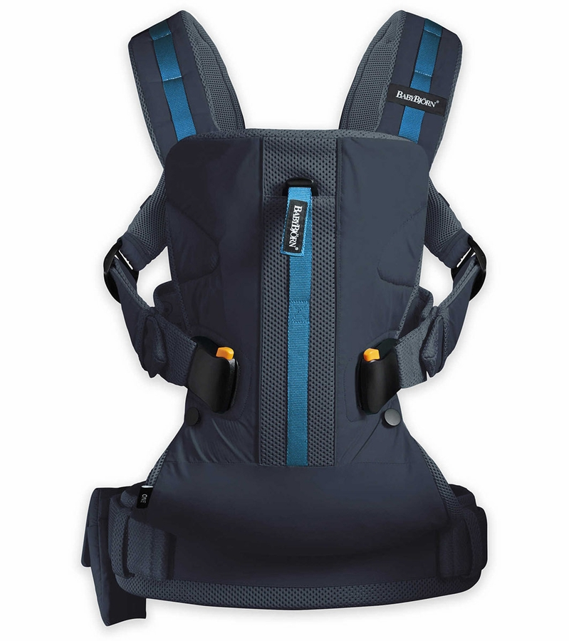 babybjorn baby carrier one outdoors dark blue. Black Bedroom Furniture Sets. Home Design Ideas