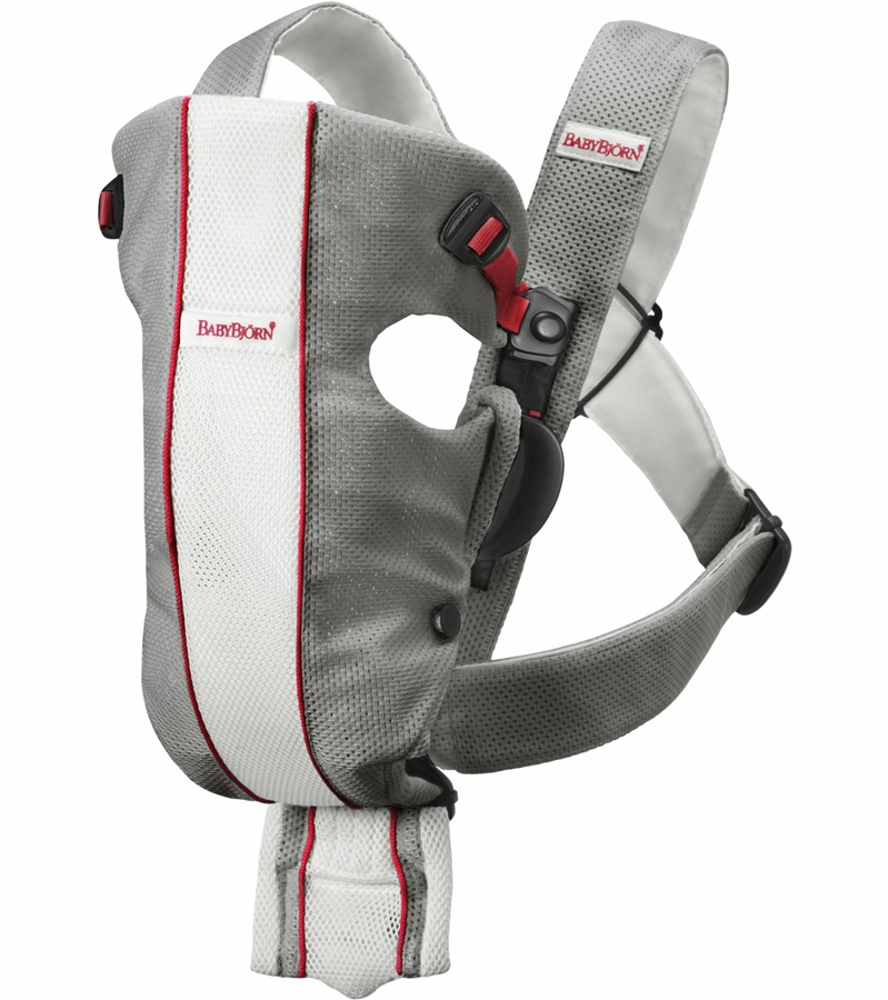 babybjorn baby carrier original mesh gray white. Black Bedroom Furniture Sets. Home Design Ideas
