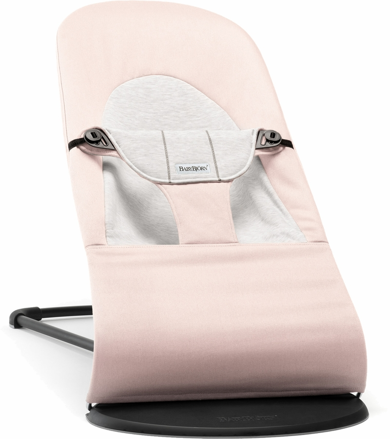 Babybjrn Bouncer Balance Soft Cotton Light Pink