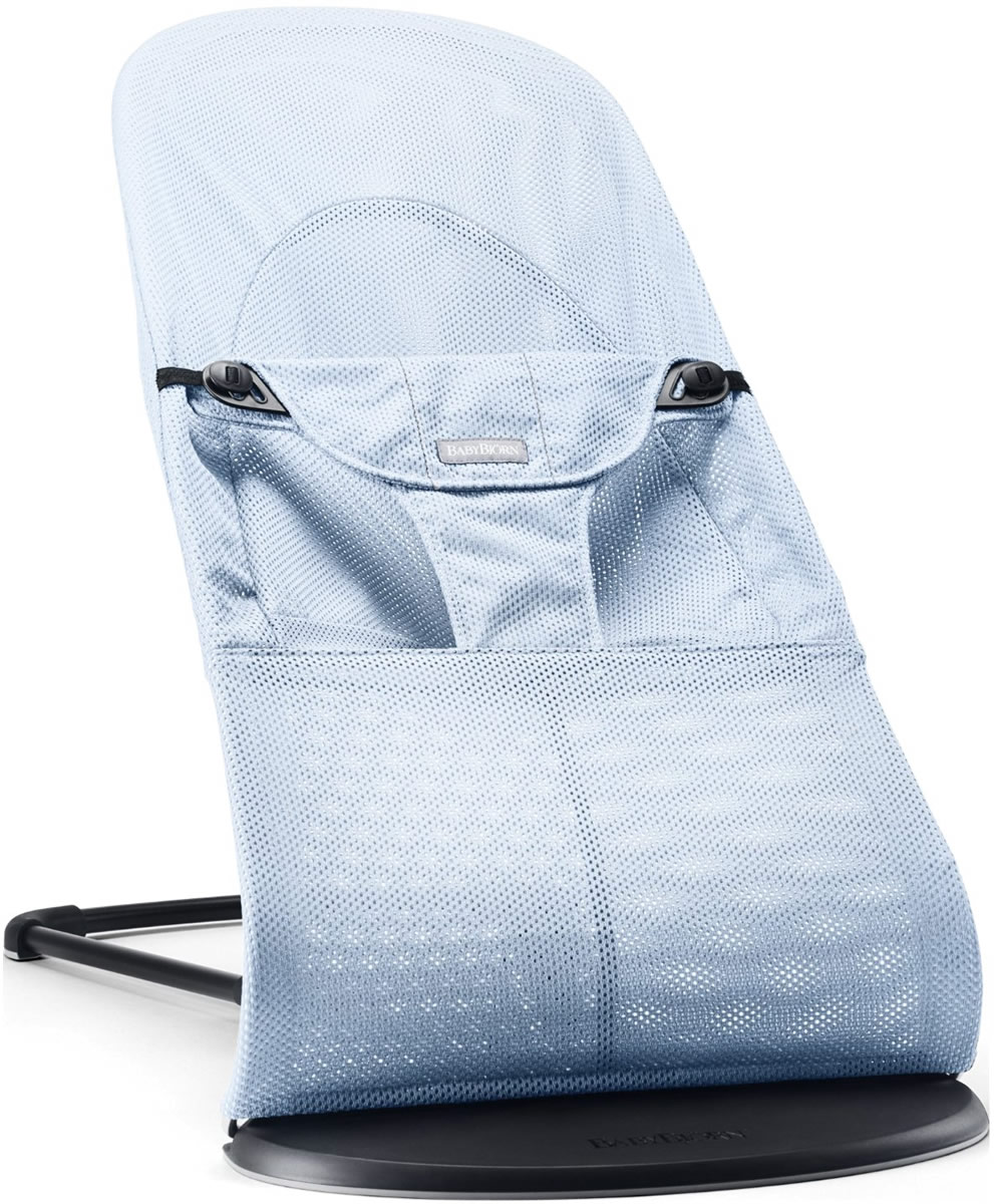 Baby Bjorn BabyBjörn Bouncer Balance Soft - Mesh - Ice Blue
