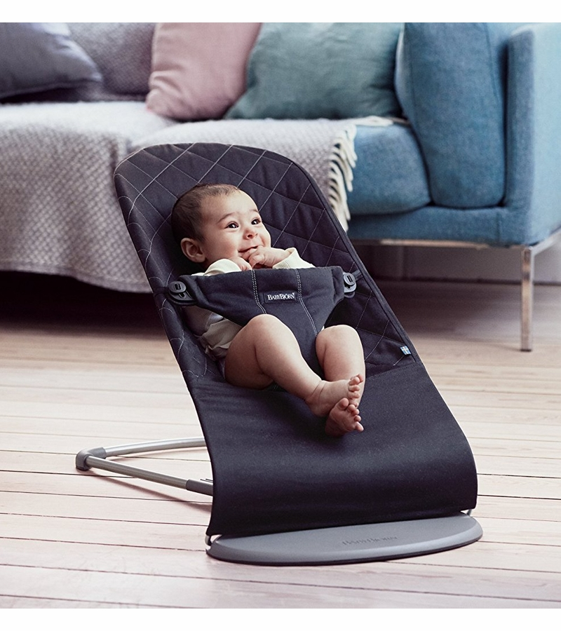 babybjorn bouncer bliss black cotton. Black Bedroom Furniture Sets. Home Design Ideas