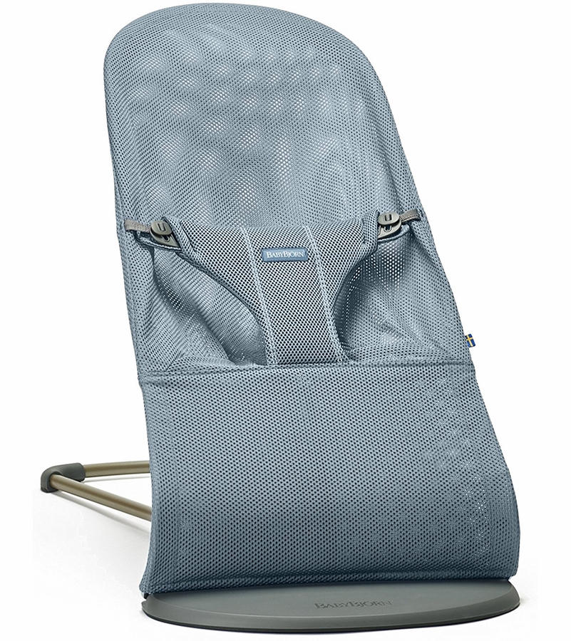Babybjorn Bouncer Bliss Dusk Blue Mesh