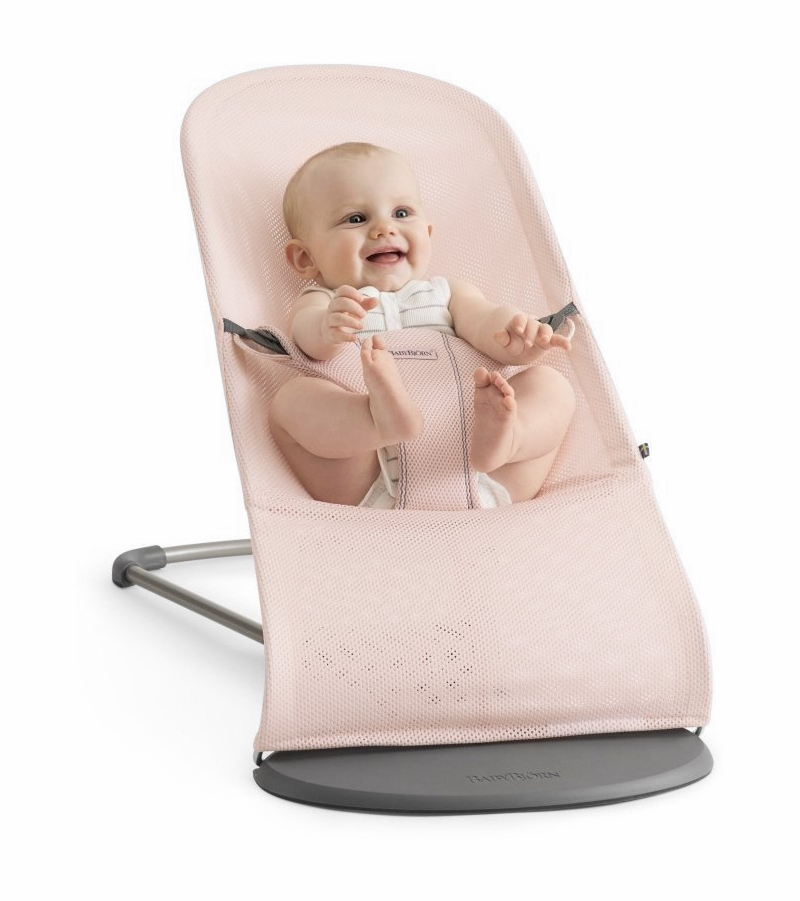 babybjorn bouncer bliss powder pink mesh. Black Bedroom Furniture Sets. Home Design Ideas
