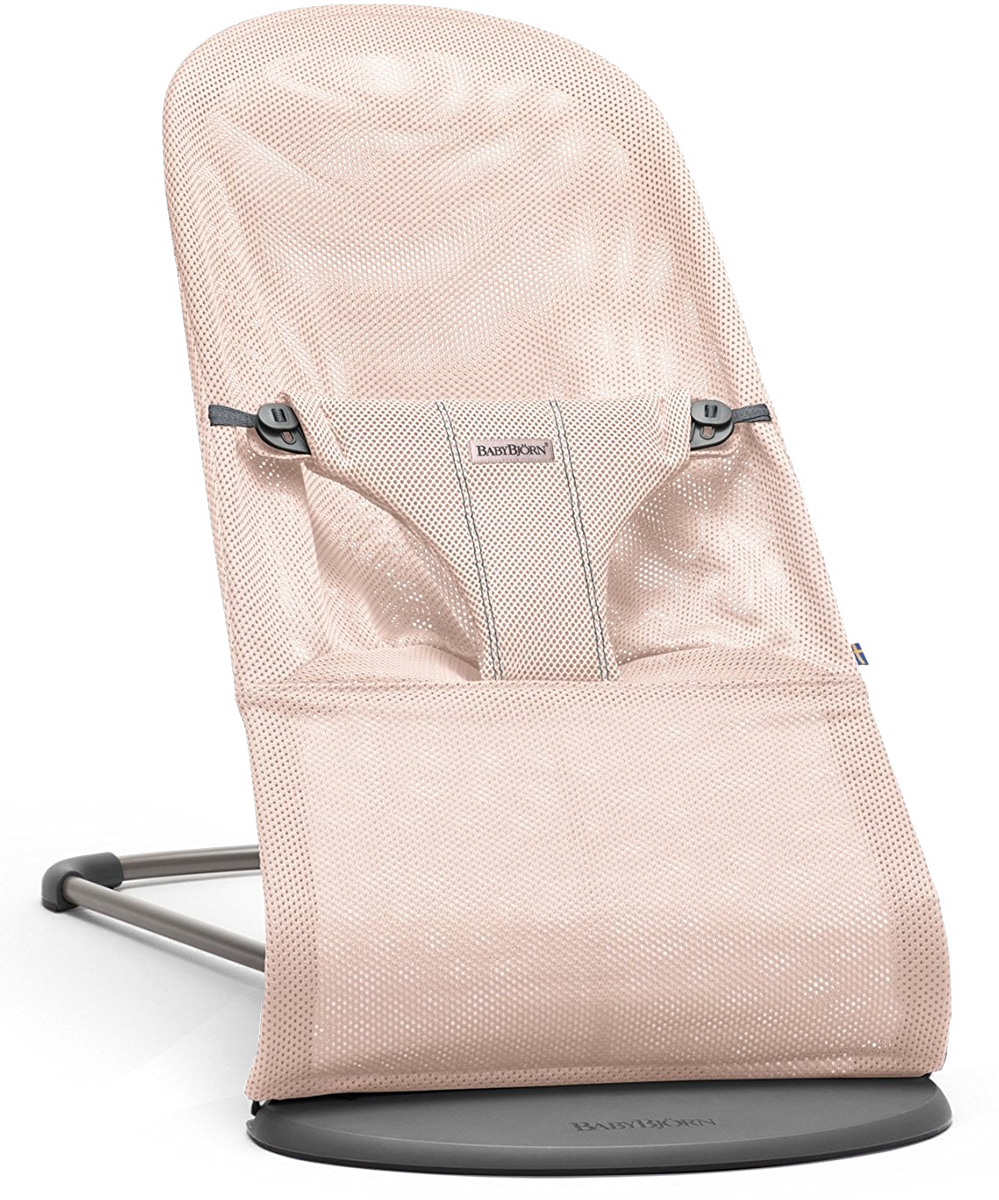 Baby Bjorn Bouncer Bliss - Powder Pink, Mesh