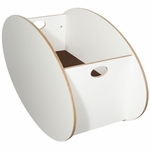 BabyHome So-Ro Single Cradle in White
