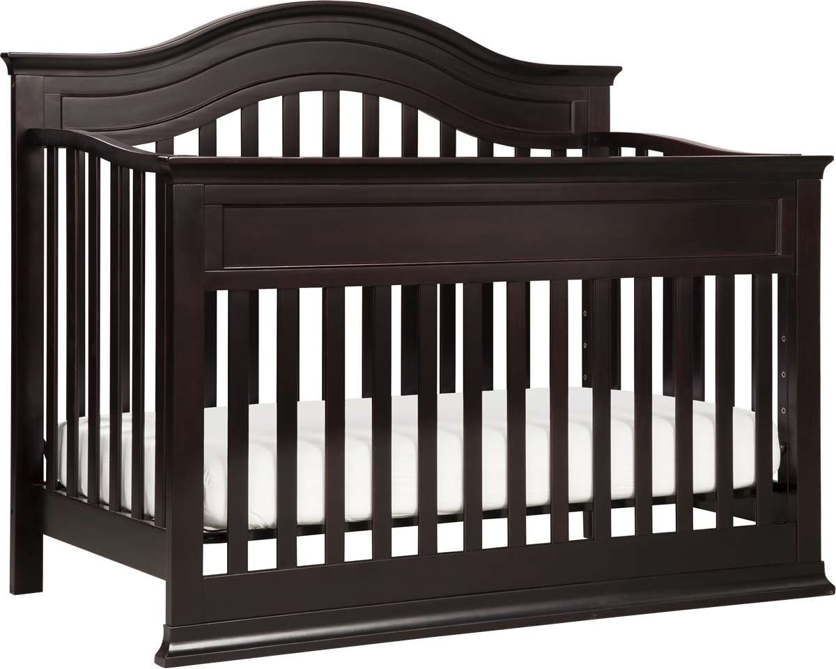 Babyletto Brook 4-in-1 Convertible Crib & Toddler Bed Con...