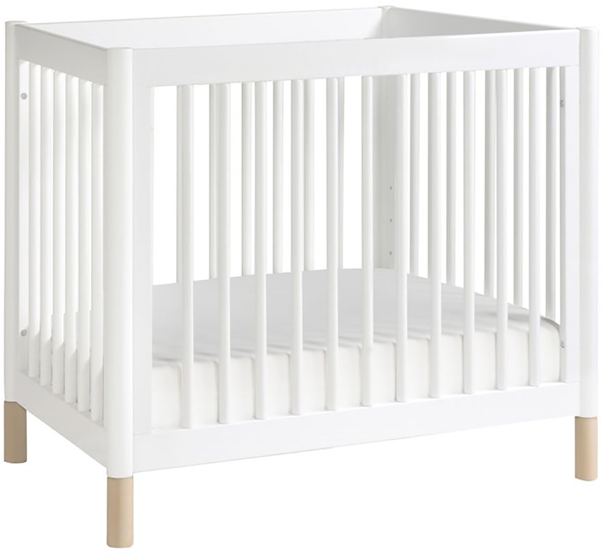 convertible bed crib craft in mini white toddler coventry matte child