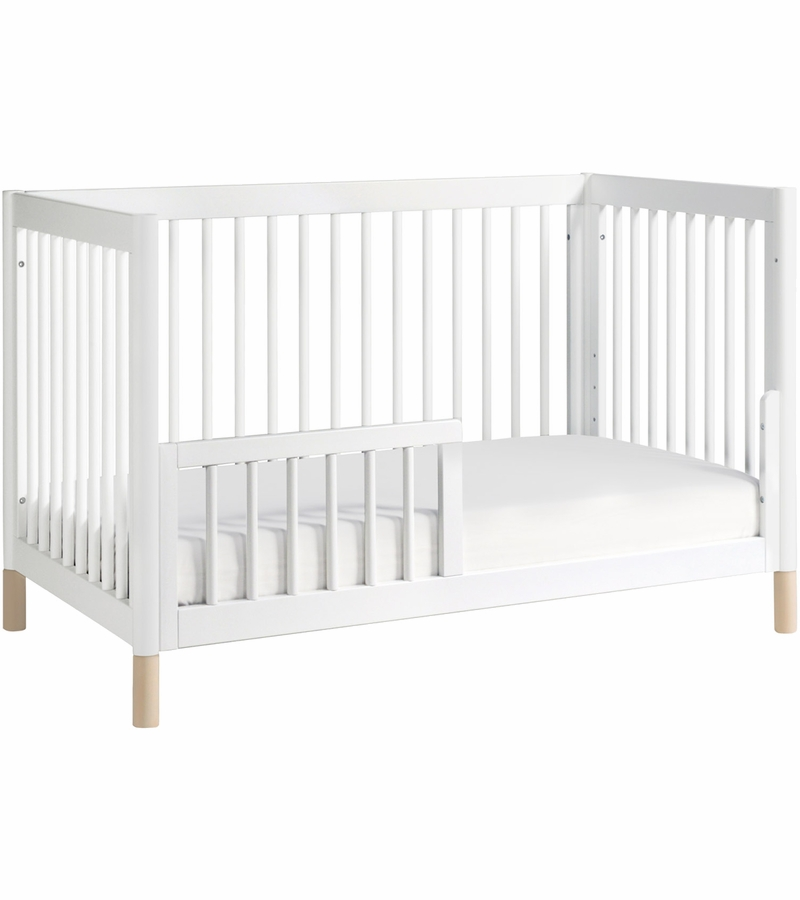 Babyletto gelato 4 in 1 convertible crib washed natural for Child craft soho 4 in 1 convertible crib in natural