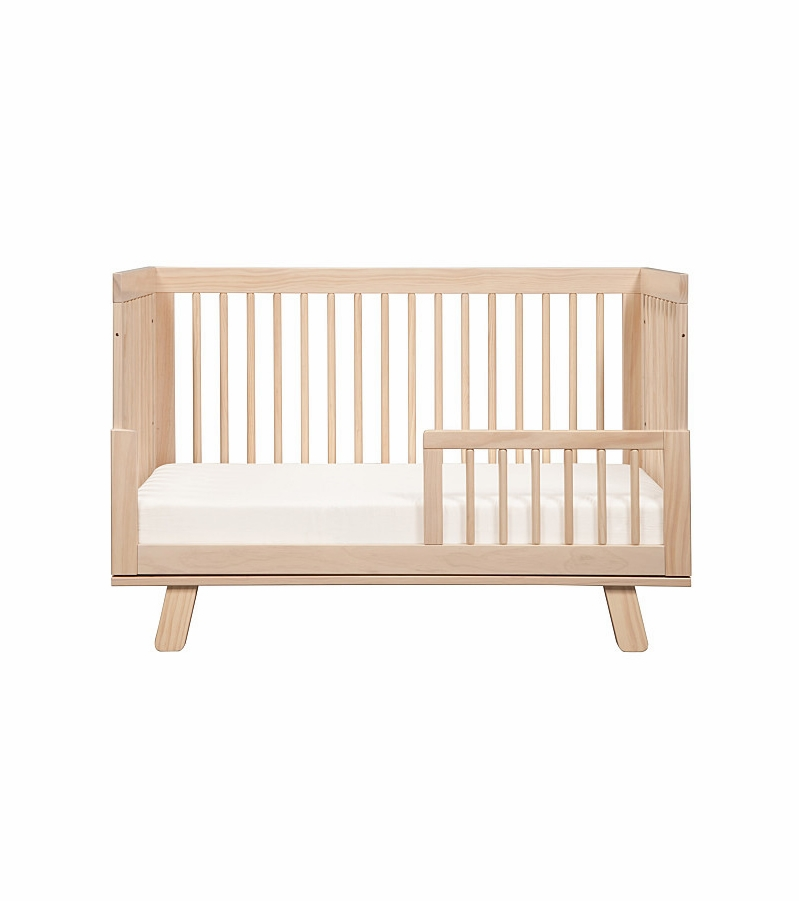 Babyletto hudson 3 in 1 convertible crib with toddler bed for Child craft soho 4 in 1 convertible crib in natural
