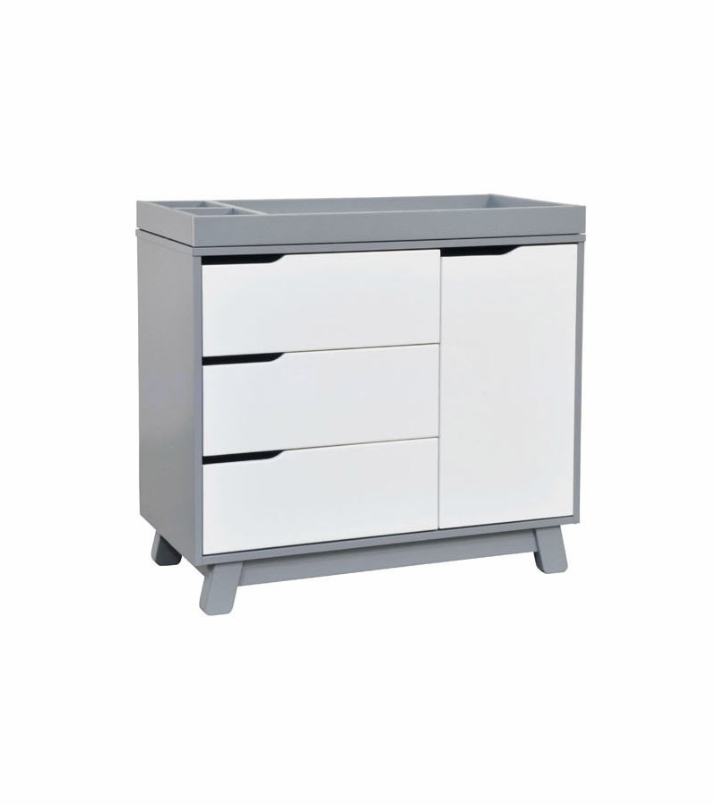 white baby dresser changer with hutch canada tone grey