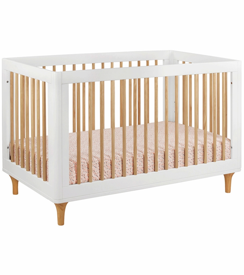 5 Cool Cribs That Convert To Full Beds: Babyletto Lolly 3-In-1 Convertible Crib With Toddler Bed