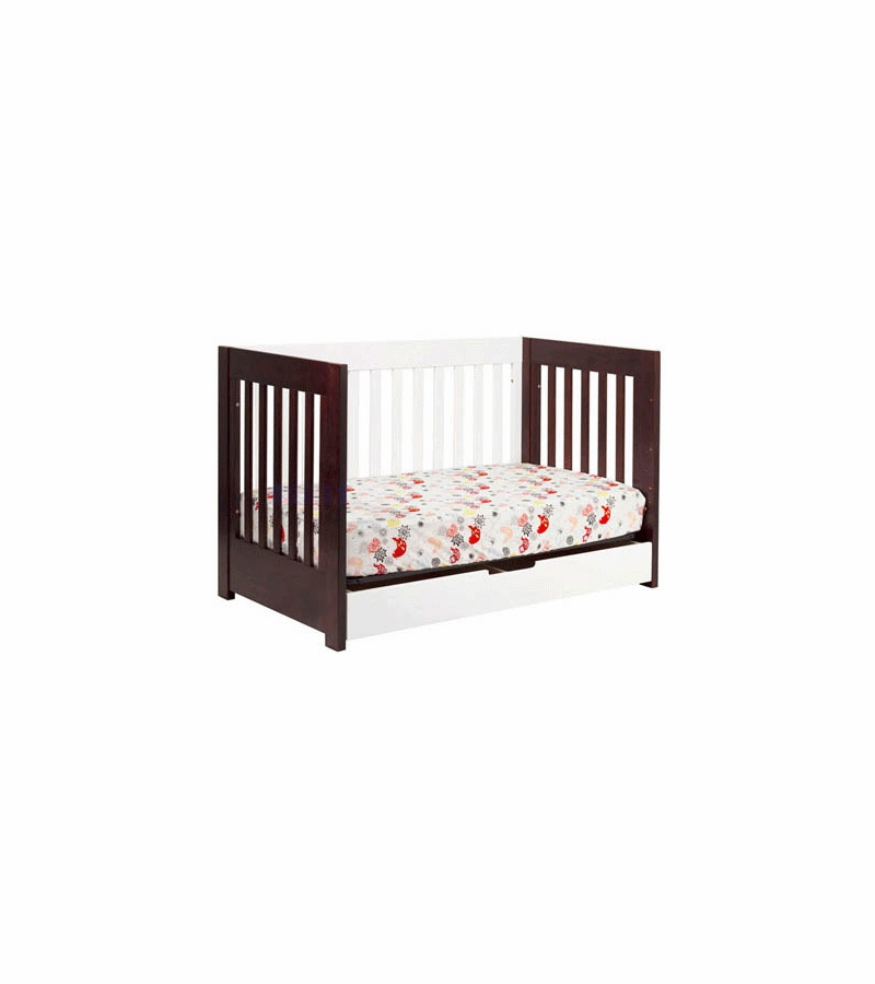 Babyletto Mercer In Convertible Crib In Espresso White