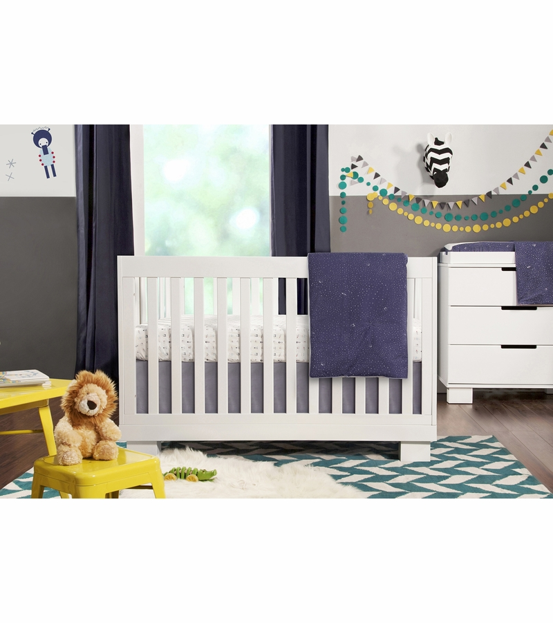 babyletto mercer crib mattress size modo assembly recall convertible white