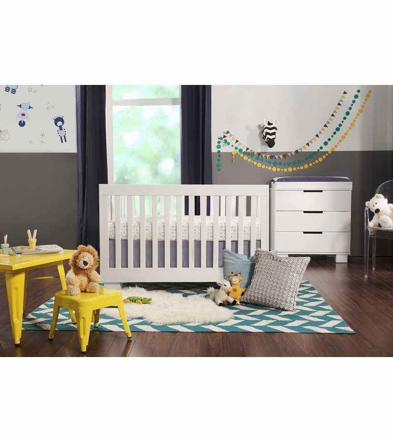 5 Cool Cribs That Convert To Full Beds: Babyletto Modo 3-in-1 Convertible Crib With Toddler Bed