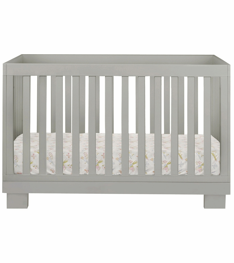 Grey crib sale oeuf sparrow collection crib in gray for Stauraum bett 100x200