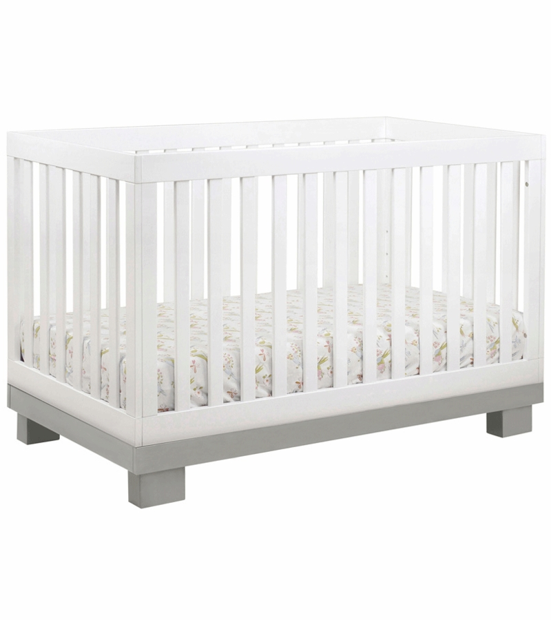 convertible cribs moon baby product crib kids grey davenport in appleseed