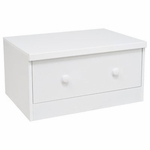 BabyLetto Storage Unit Base Drawer in White