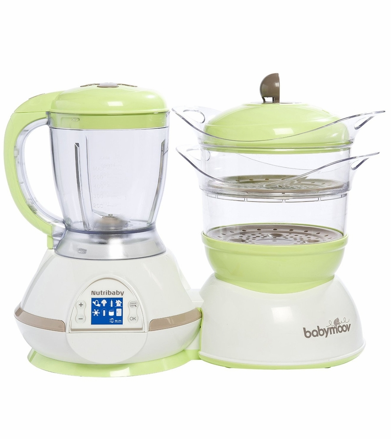 Toy Food Processor : Babymoov nutribaby food processor steamer green