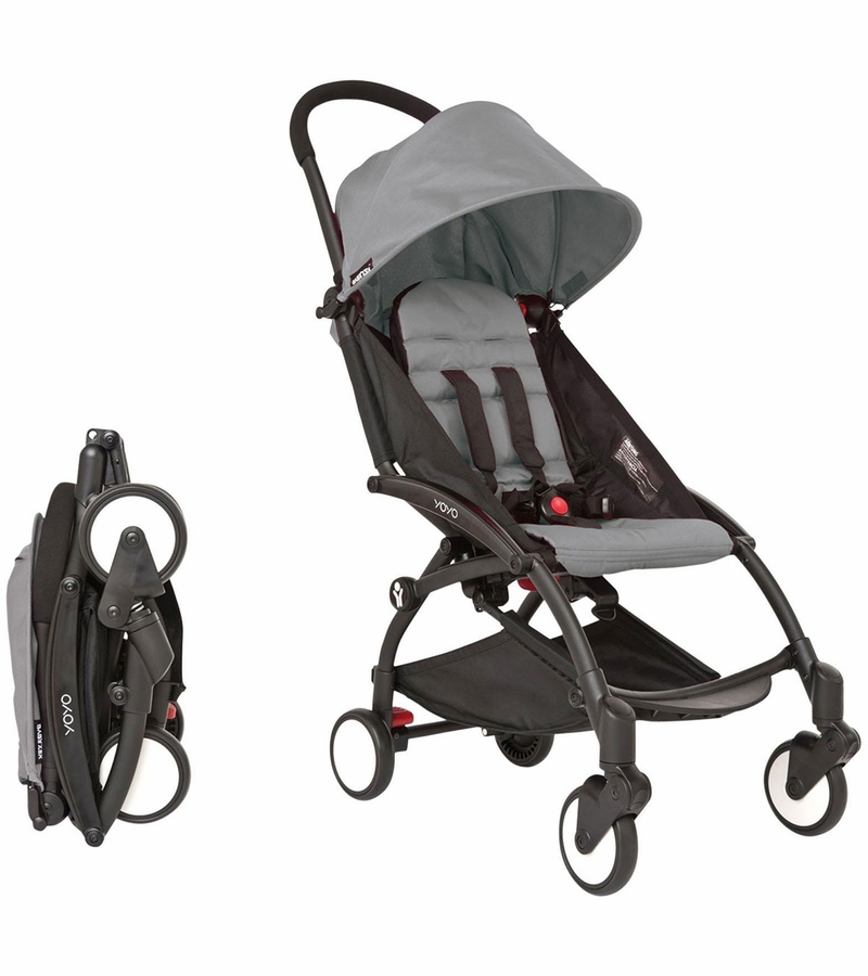 babyzen yoyo 6 stroller 2015 black grey. Black Bedroom Furniture Sets. Home Design Ideas