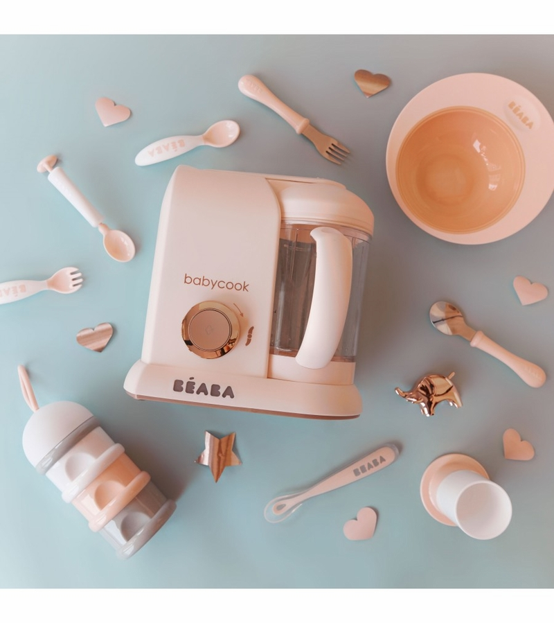 Beaba babycook baby food maker limited edition rose gold