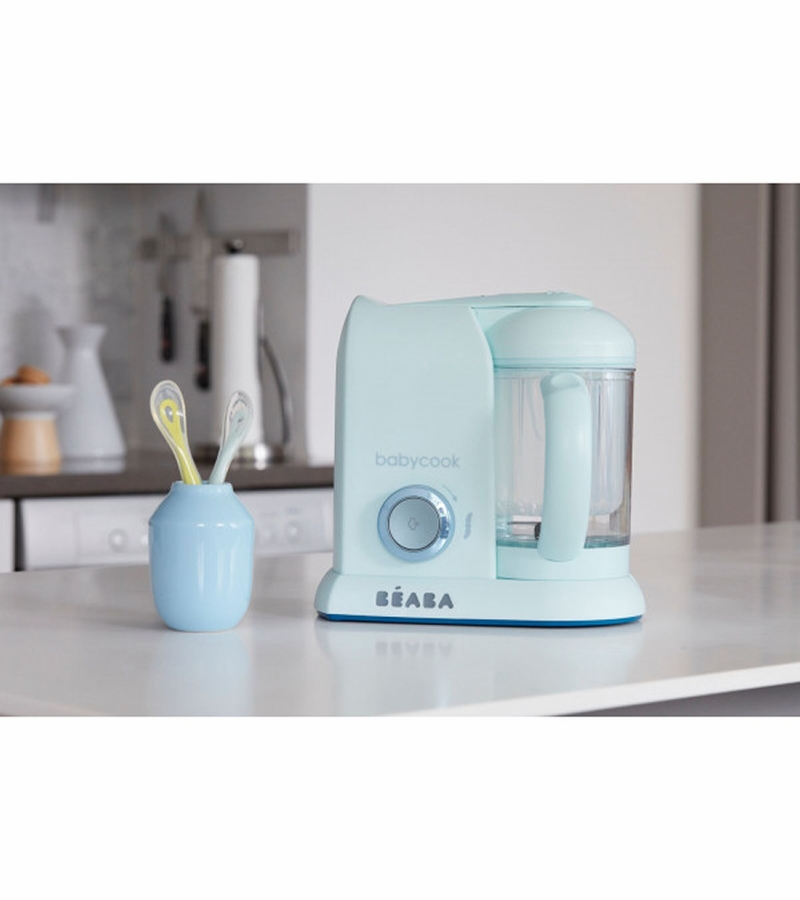 Beaba Babycook Pro Baby Food Blender Blueberry Macaron Collection