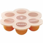 Beaba Multiportions Freezer Tray in Orange