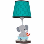 Bedtime Originals Choo Choo Lamp with Shade & Bulb