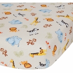 Bedtime Originals Jungle Buddies Crib Sheet