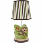 Bedtime Originals Jungle Buddies Lamp with Shade