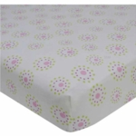 Bedtime Originals Pink Butterfly Sheet