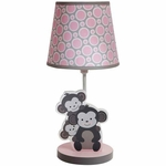 Bedtime Originals Pinkie Lamp with Shade & Bulb