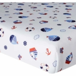 Bedtime Originals Sail Away Fitted Crib Sheet